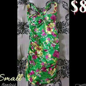 Gorgeous Floral Mini Dress